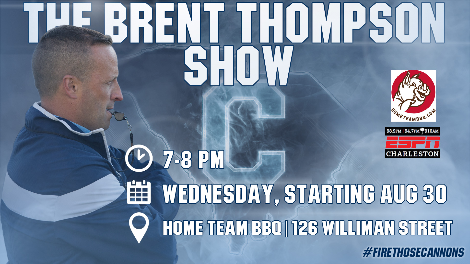 Show Debuts on Wed Night at Home Team BBQ Downtown