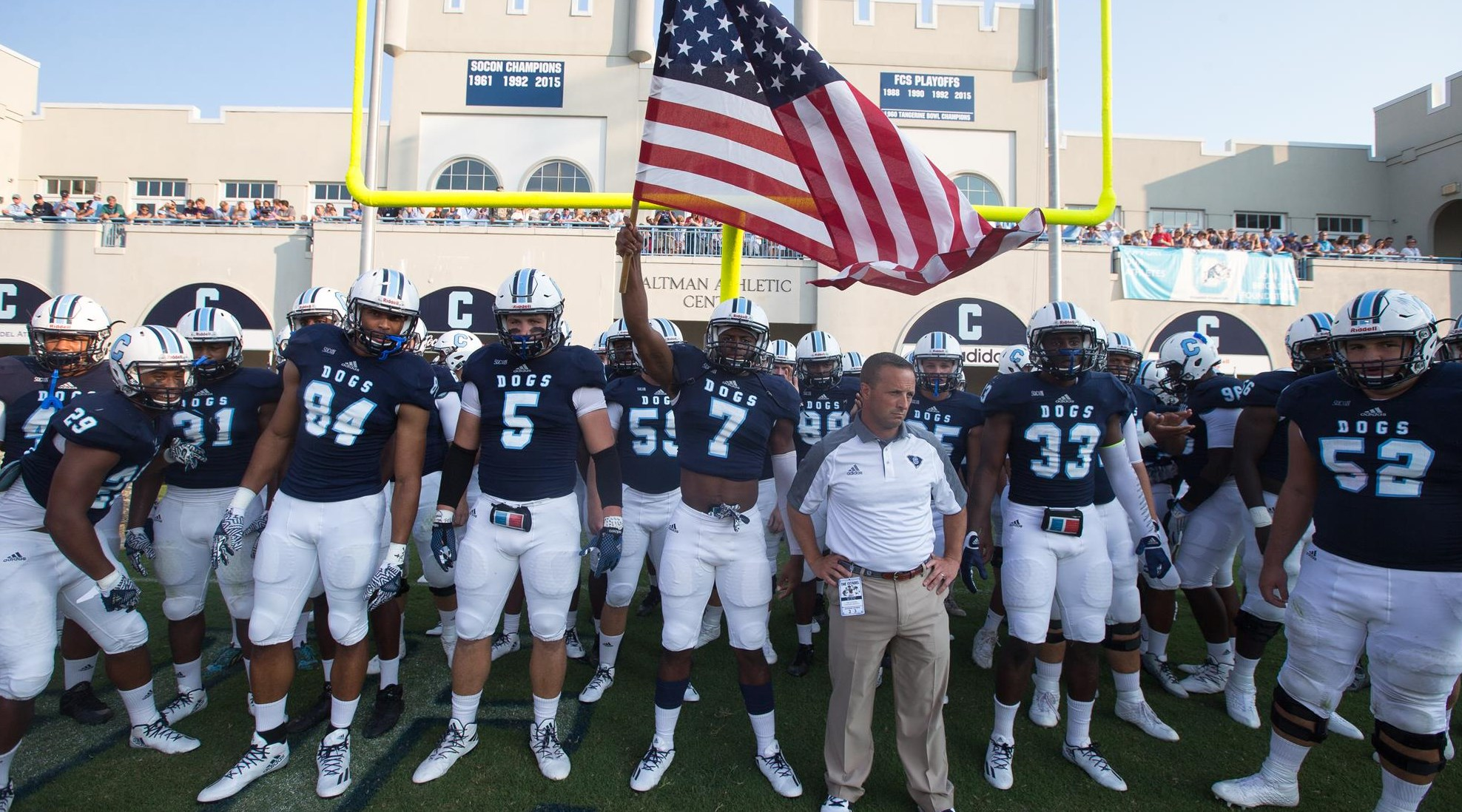 various colors dfac4 dd441 Bulldogs Host Newberry on Saturday Night - The Citadel Athletics